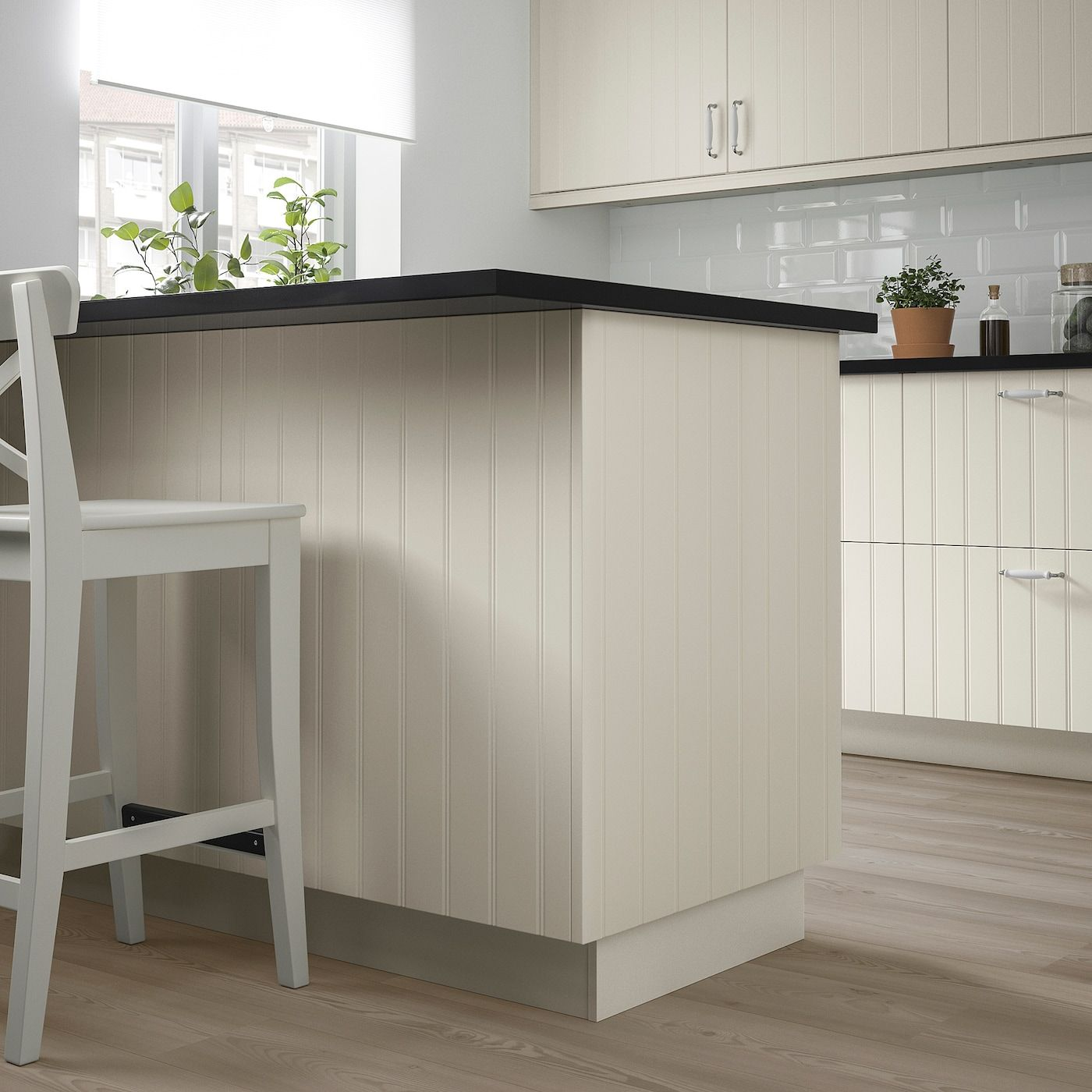 Hittarp Cover Panel Off White 15x90 Ikea In 2020 Diy Kitchen Cart Ikea Kitchen Style
