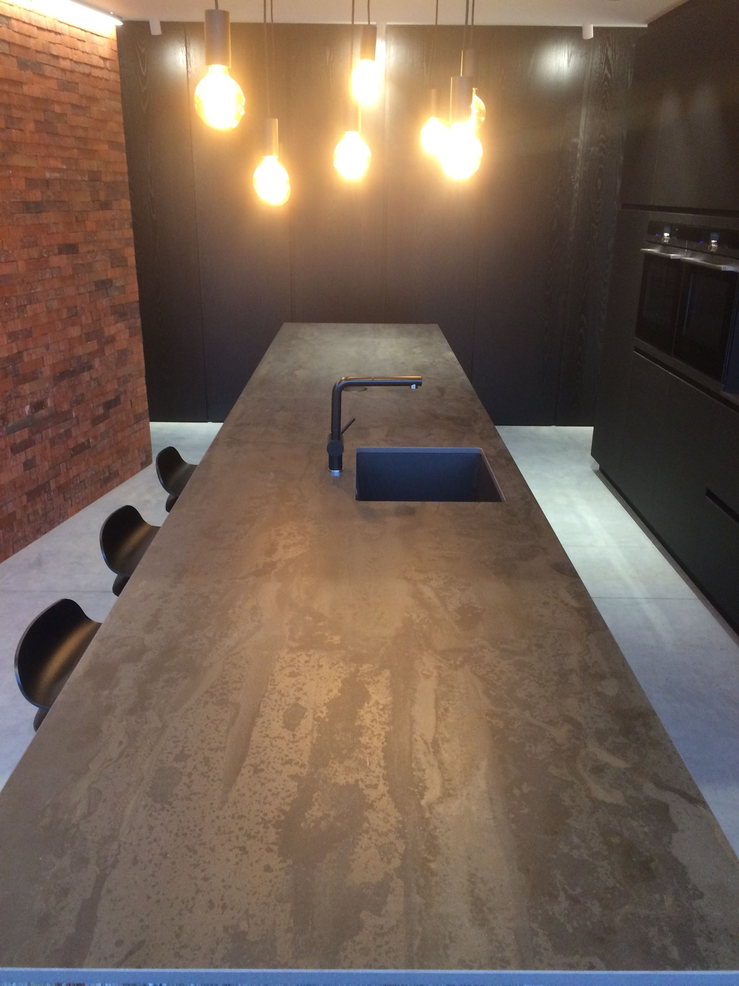 Seats Sofas Hasseltweg Awesome Industrial Dekton Radium Trouilliez Interieur Kontich By