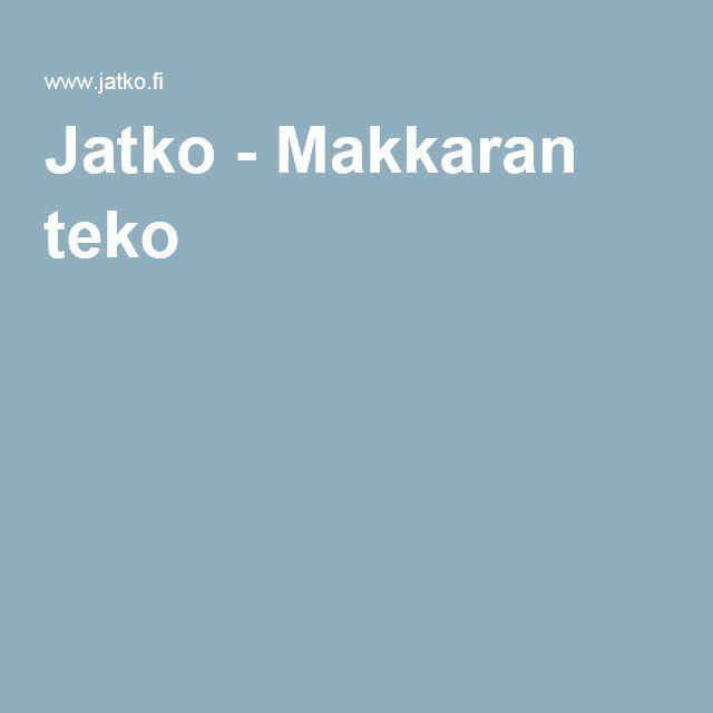 Makkaran Teko