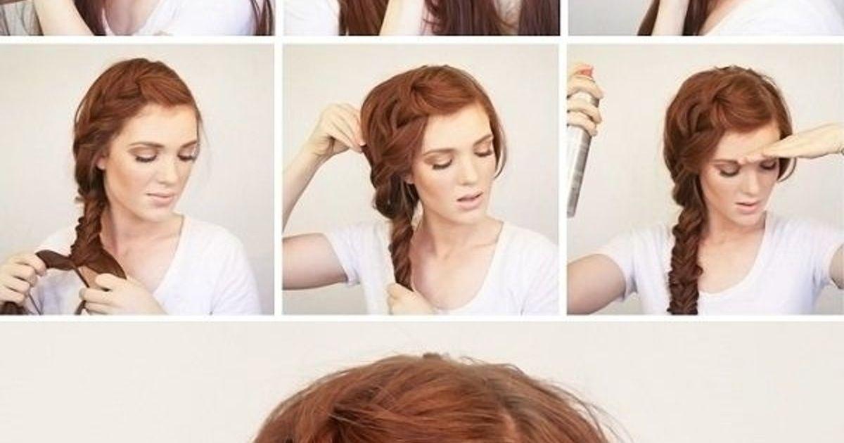 3. #Summer Side Braid - 43 #Fancy Braided #Hairstyle Ideas from #Pinterest ... → Hair #Decker #waterfall side Braids 43 Fancy Braided Hairstyle Ideas from Pinterest ... #sidebraidhairstyles