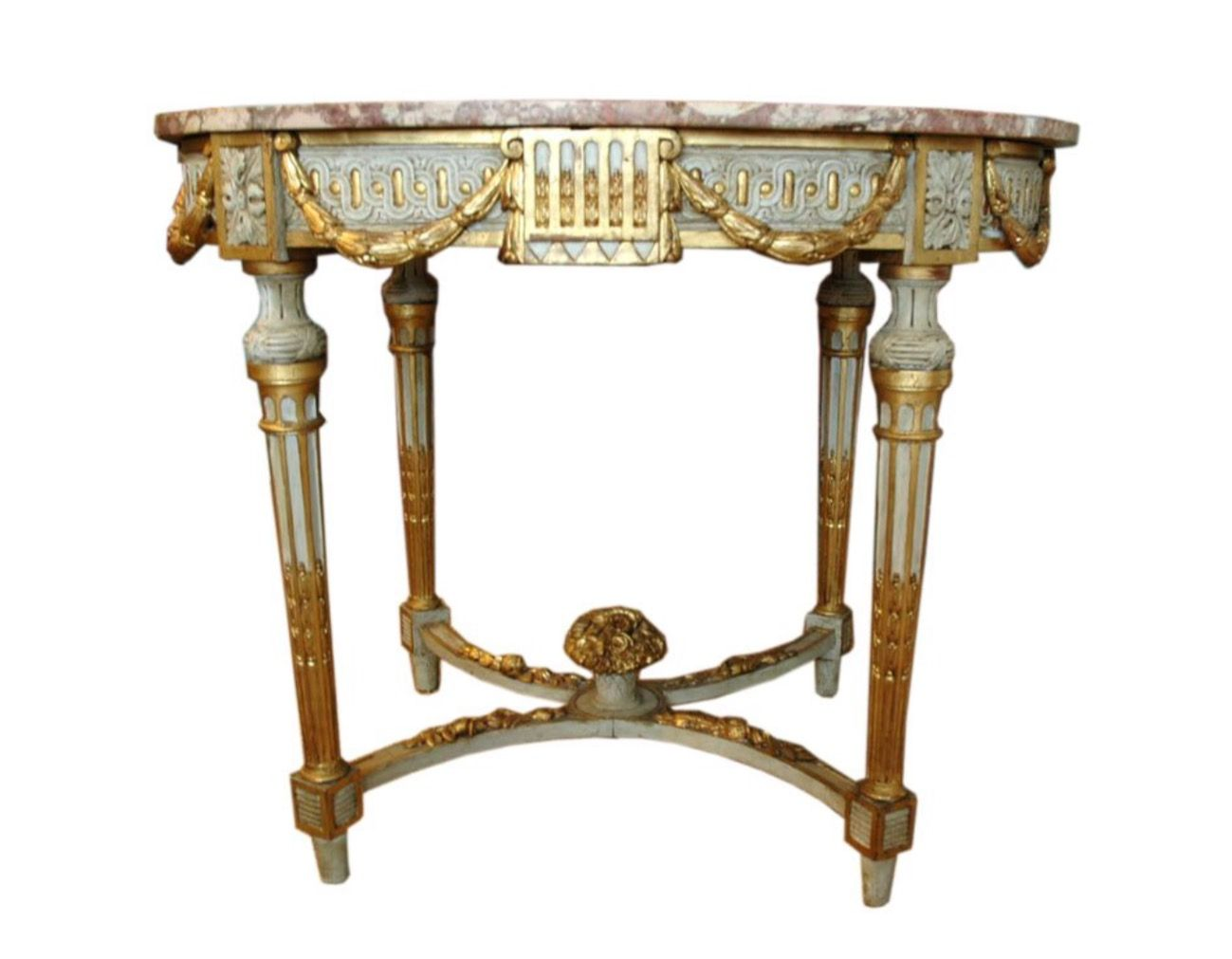 Louis XVI Style Center Table