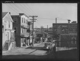 Syrian Neighborhood Near Shipyards Quincy Ma 1940 Snug Harbor The Neighbourhood New England