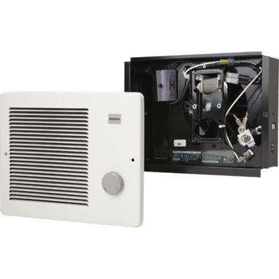 Broan Wall Insert Electric Fan Heater Power Wall Mounted Heater Small Electrics Small Heater