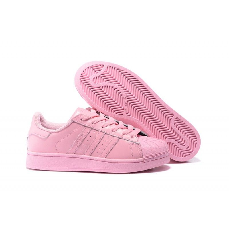 Adidas Originals Superstar Supercolor Pack Adidas x Pharrell Williams Unisex light pink trainer S41829