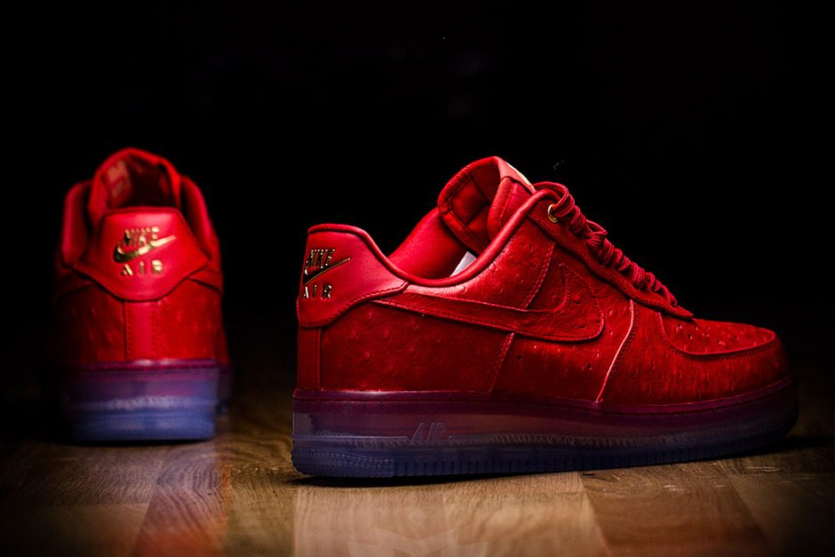 nike air force 1 comfort lux low red blood