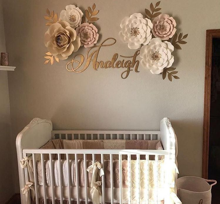 Nursery Room Decor Name Sign And We Make Laser Cut Signs Like This For Weddings Other Special Events