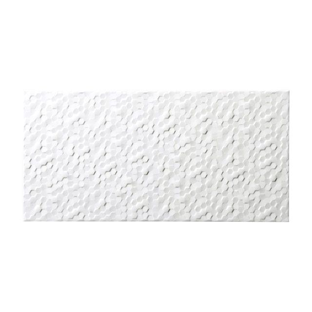 carrelage mural blanc 20 x 40 cm hexa nuzzi castorama salle de bain pinterest kitchens. Black Bedroom Furniture Sets. Home Design Ideas