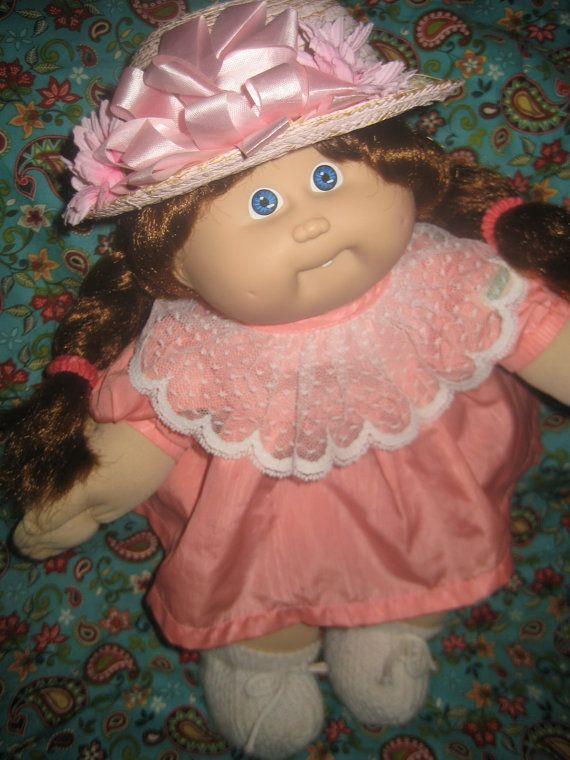 Vintage 1986 Cornsilk Cabbage Patch Cabbage Patch Dolls Cabbage Patch Kids Kids