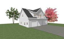 GARAGE PLANS 44 x 36 3 Car Garage Plans 10 12 with 1 BR Apartment
