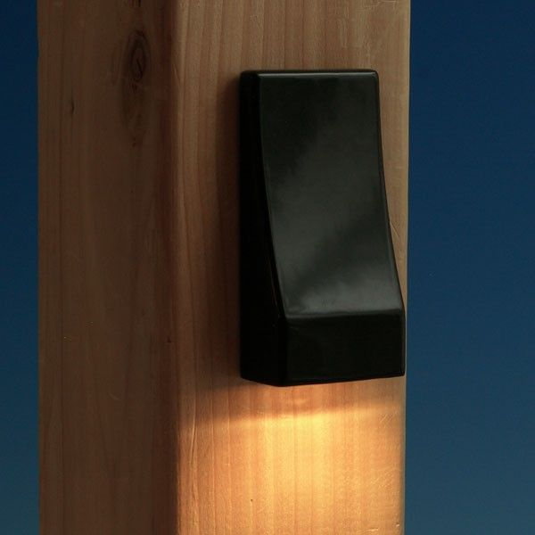 Vertical led post light by fortress accents posts led and lights vertical led post light by fortress accents aloadofball Choice Image