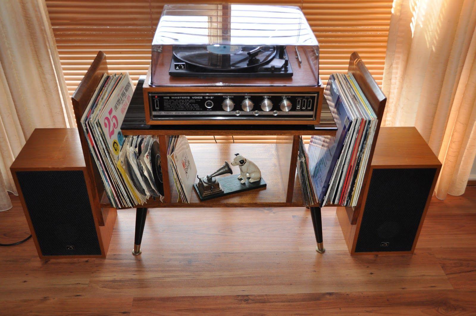 Lisa S Retro Old School Audio Home Audio Room Record Room