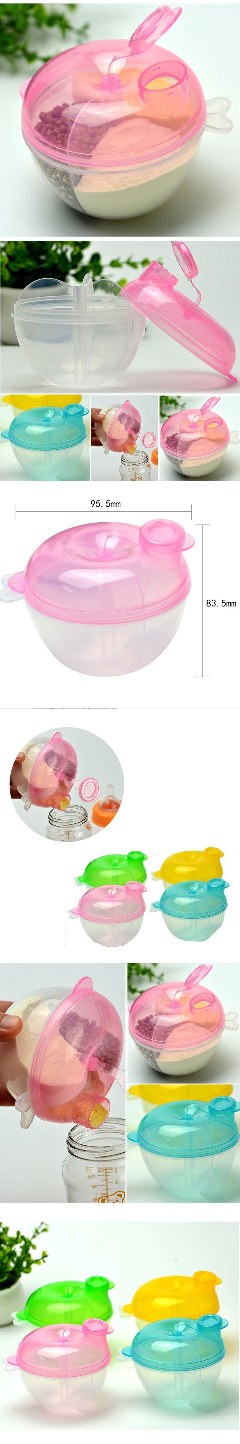 c0fe1c8a02fe 1pcs Portable Baby Milk Powder Formula Dispenser Infant Feeding Milk ...