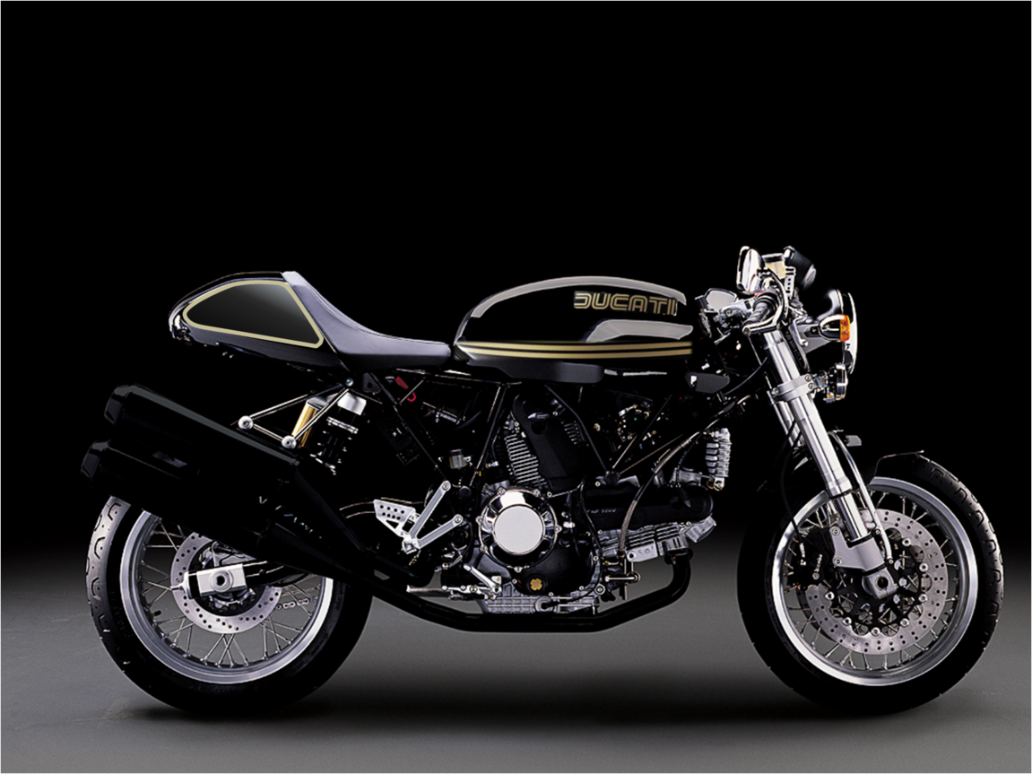 Ducati Vintage Black Gold Caffe Co Ducati Ducati Sport 1000