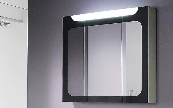 Armoire de toilette riva de decotec compos de 3 portes - Armoire de toilette decotec ...