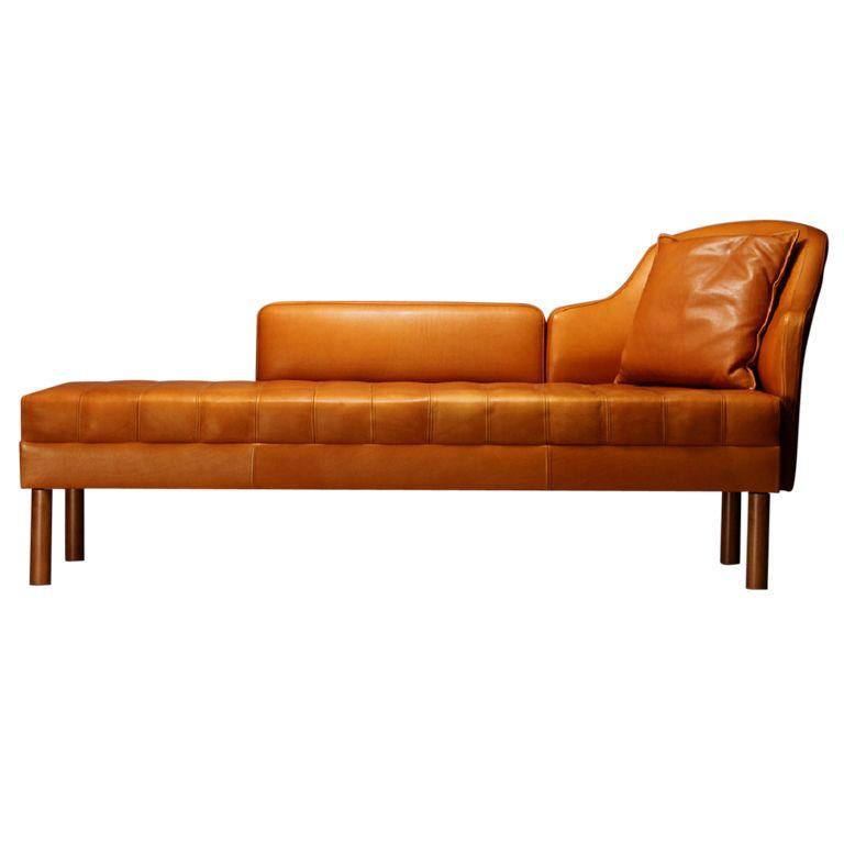 Unique mogens hansen chaise longue denmark for Sillones chaise longue