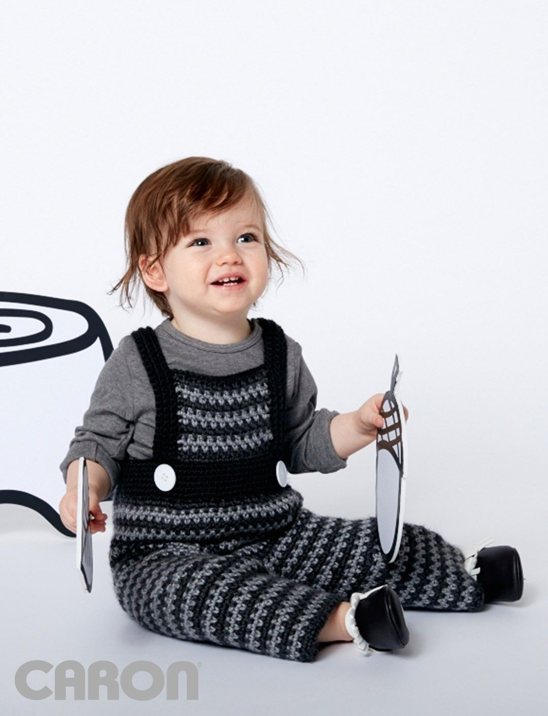 Funny Dungarees - Patterns | Yarnspirations | Baby Bunting, Cocoons ...