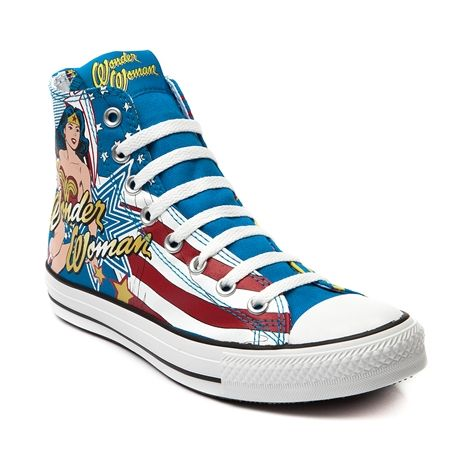 0c32f97a730cd4 Shop for Converse All Star Hi Wonder Woman Sneaker in Wonder Woman at Journeys  Shoes. Shop today for the hottest brands in mens shoes and womens shoes at  ...