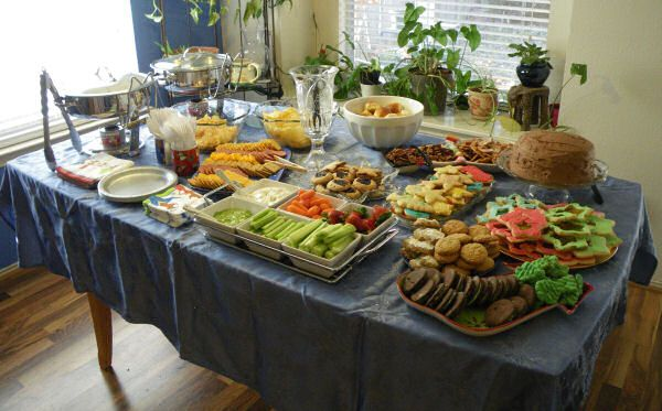 Christmas Party Buffet Food Ideas