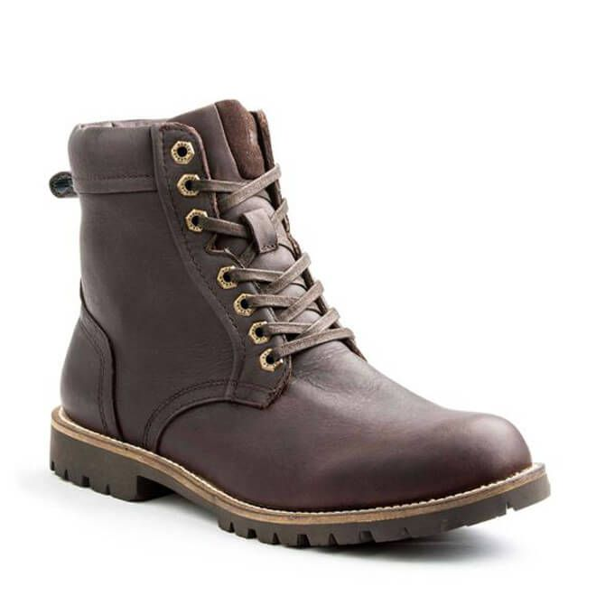 Quality leather boots, Mens waterproof