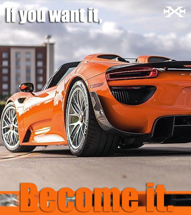 Hyperarousal Collector Owns Laferrari Porsche 918 And: If You Want It Become It.