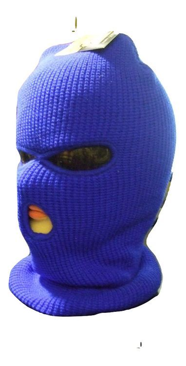 Blue 3 Hole Ski Mask.  80b4fcaf3fc
