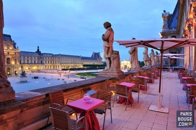 Populaire 14 Awesome Outdoor Rooftop Bars And Restaurants In Paris | Rooftop  QR06
