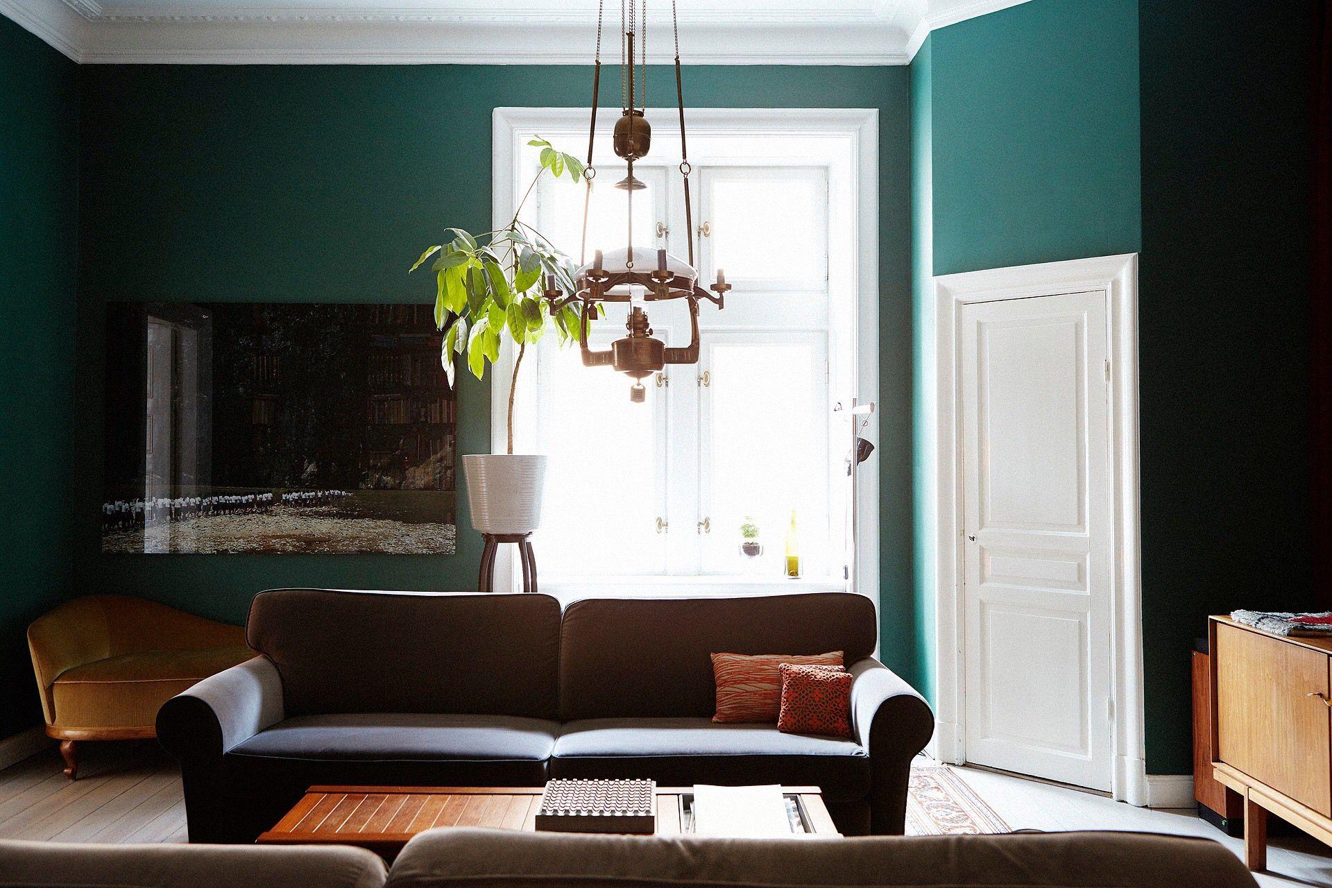 Green walls | H o m e . Sweet home. | Pinterest | Green walls