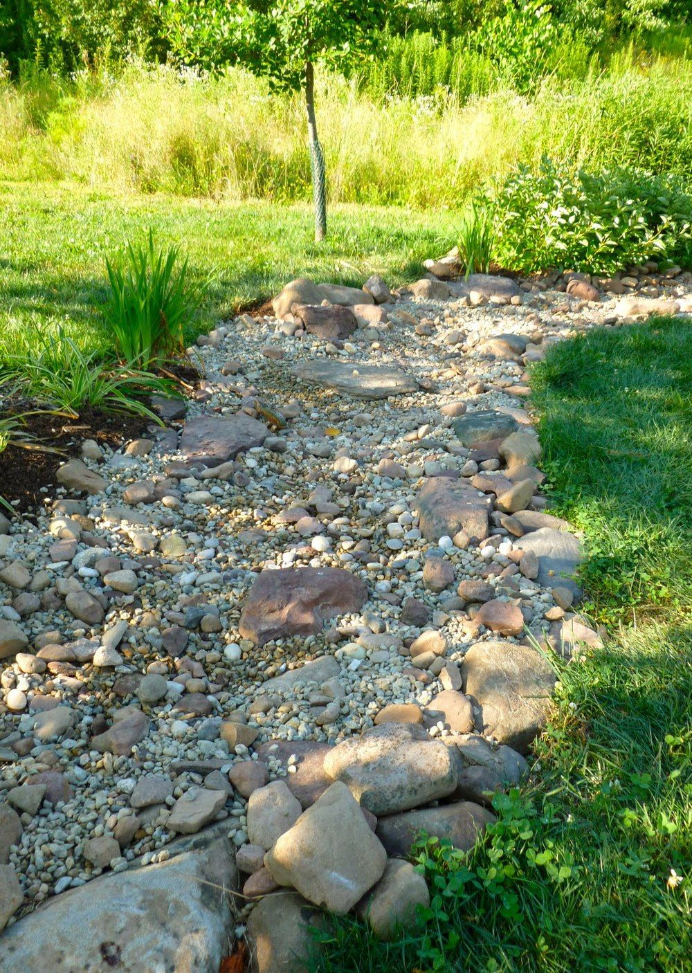 25 Dry Creek Bed Garden Design Ideas Backyard