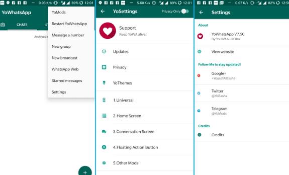 Whatsapp Fouad Mod Versi 790 di 2020 Aplikasi