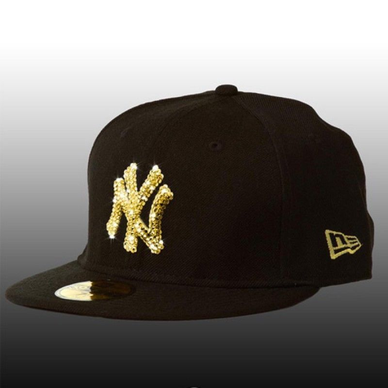 313fe790dde3c New Era Cap 59Fifty New York Yankees Basic with Crystals Best Valentine Gift