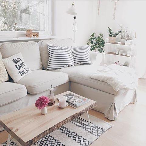 Einen wunderschönen Mittwoch Morgen wünschen wir aus dem kuscheligen - schöne tapeten fürs wohnzimmer