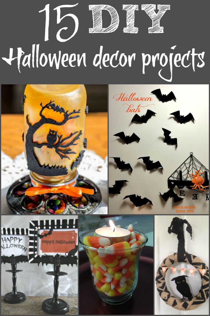Looking For Diy Halloween Decorations You Can Make Check Out This List Of 15 Fun