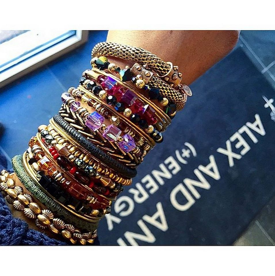 More is always more when it comes to Alex and Ani Bracelets!