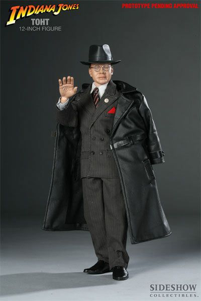 Stand Sideshow 1:6 Indiana Jones Arnold Toht Figure