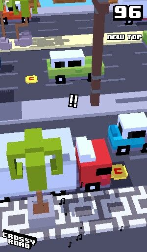 Crossy road! Such an amazing game! Go try it out!