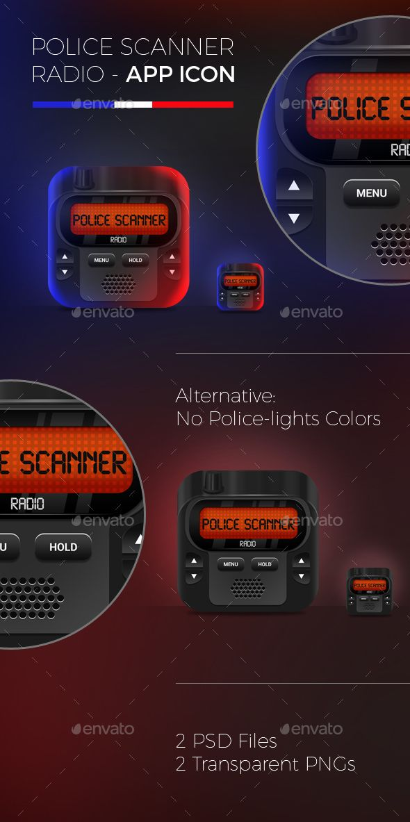 Police Scanner Radio App Icon App icon, Icon, Iphone logo