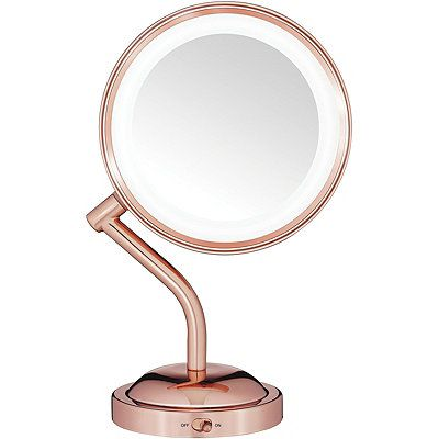 Conair Rose Gold 1x 5x Led Mirror With Images Led Mirror