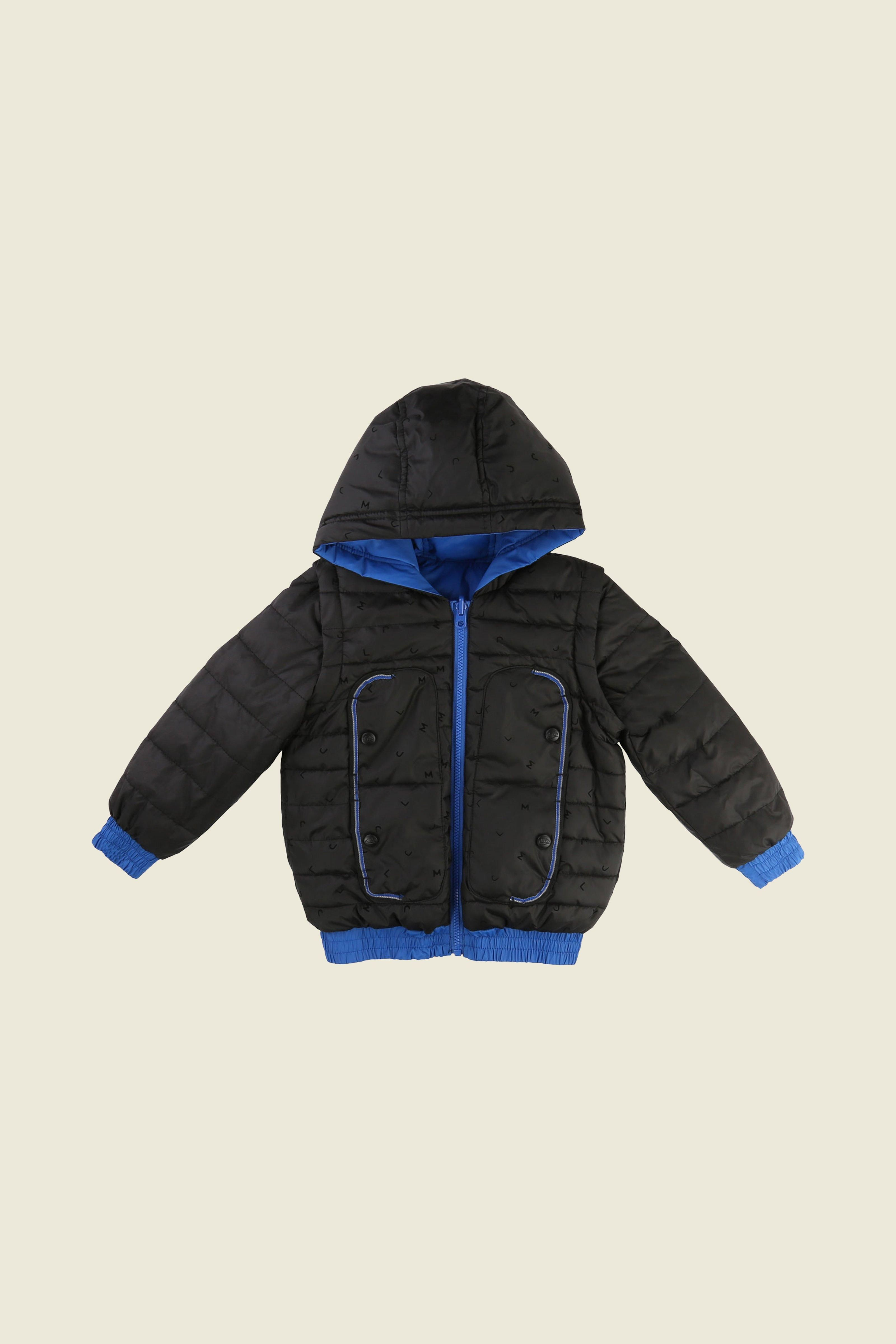 cce5f9f26 The Little Marc Jacobs Reversible Puffer Jacket is like having two ...