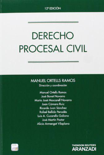 Derecho procesal civil / Manuel Ortells Ramos (dirección y coordinación) ; autores, Manuel Ortells Ramos ... [et al.]