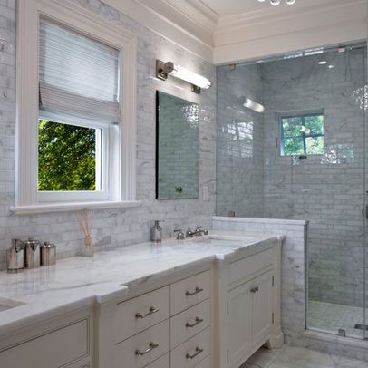 Bathroom window above vanity bathroom pinterest for Bathroom window designs
