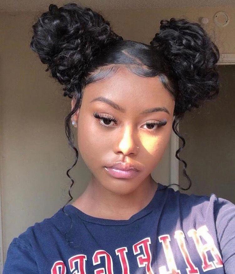 Blackteenagegirlhairstyles Baddie Hairstyles Medium Length Hair