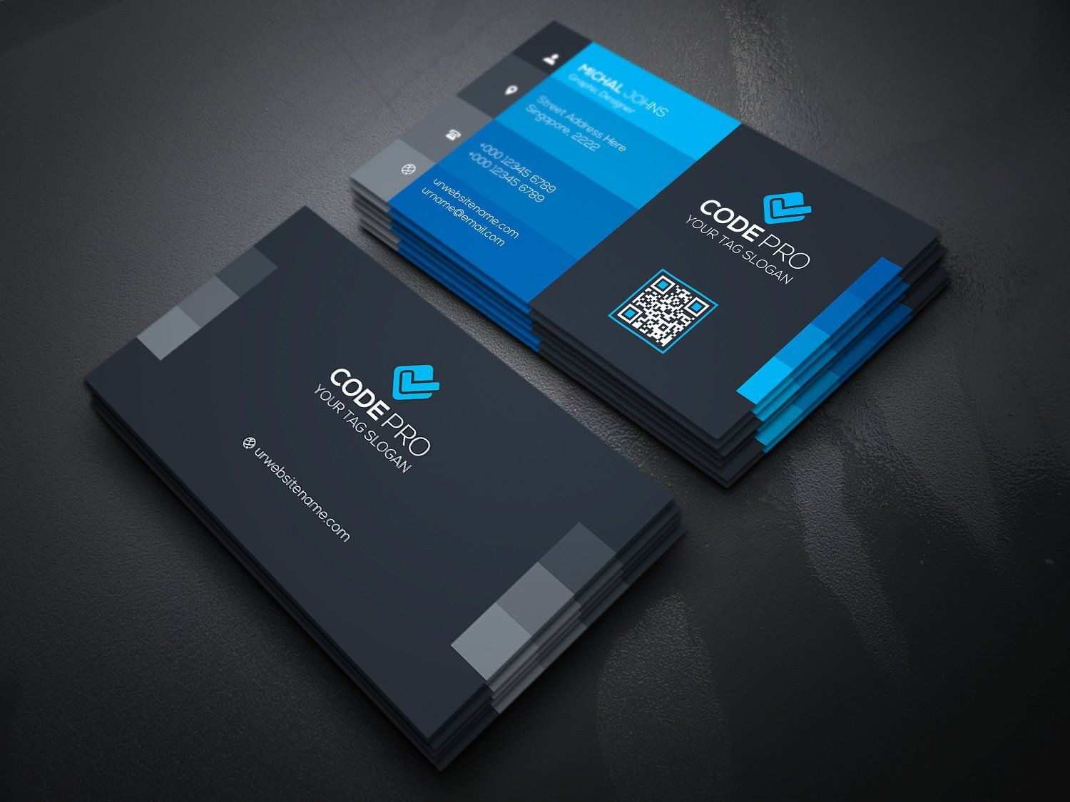 Multipurpose business card by create art on creativemarket card multipurpose business card by create art on creativemarket colourmoves Images