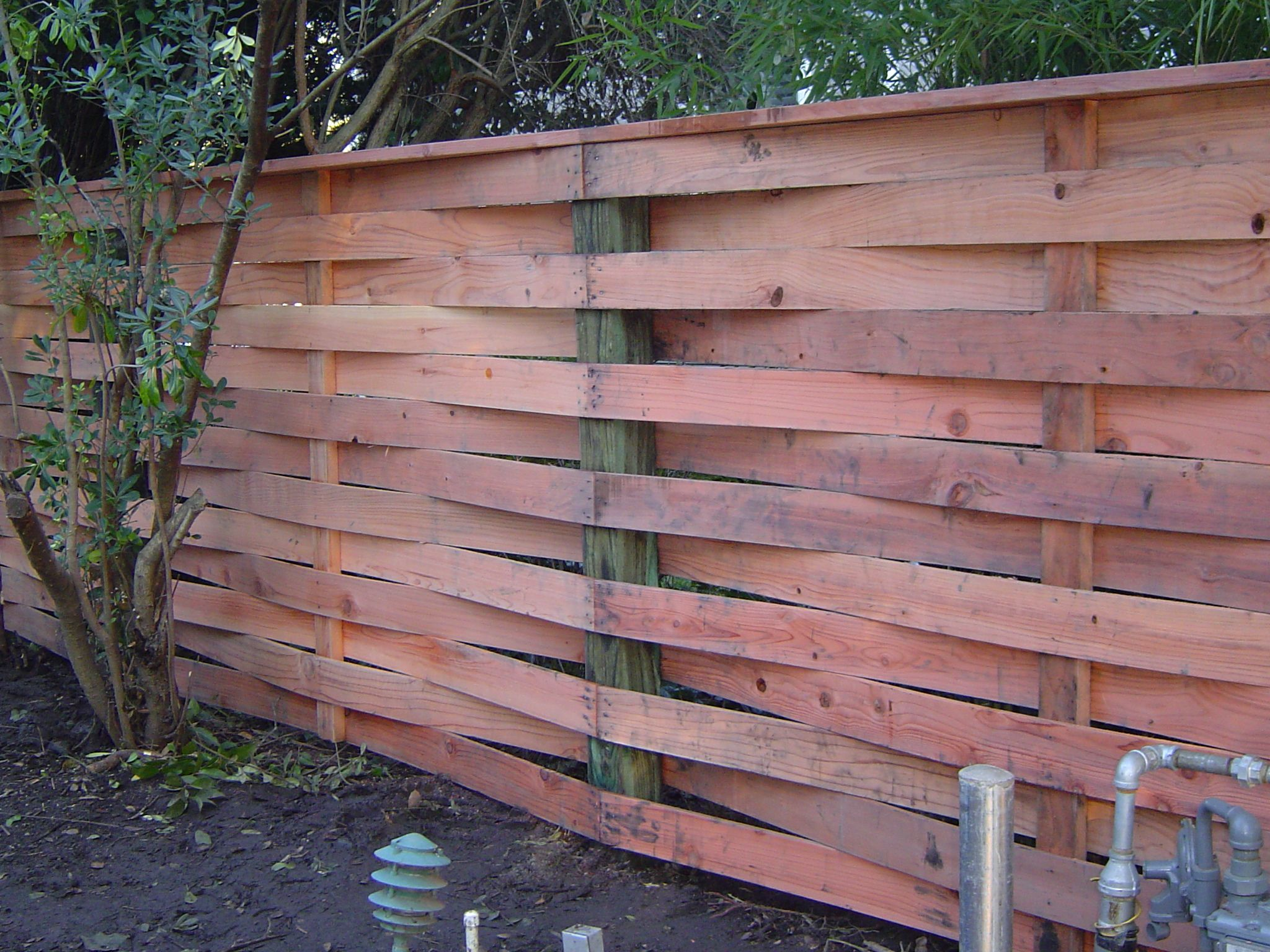 Basket Weave By Arbor Fence Inc Wood Fence Design Wood Privacy