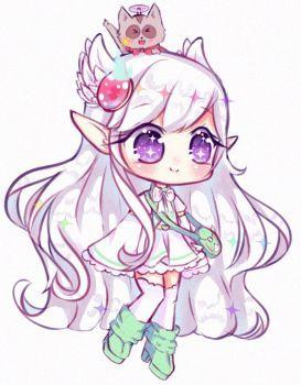 C Aryllx By Seraphy Chan Chibi Anime Kawaii Cute Anime Chibi Cute Animal Drawings Kawaii