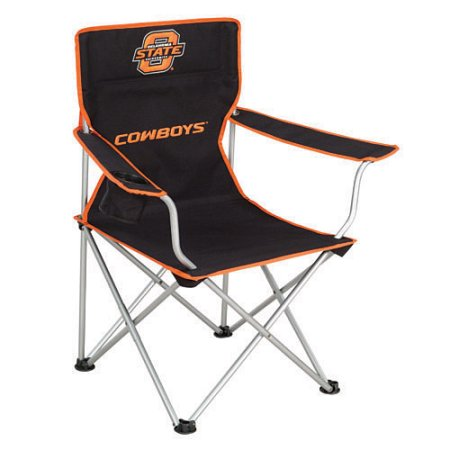 Miraculous Oklahoma State Cowboys Folding Arm Chair Black Armchair Unemploymentrelief Wooden Chair Designs For Living Room Unemploymentrelieforg