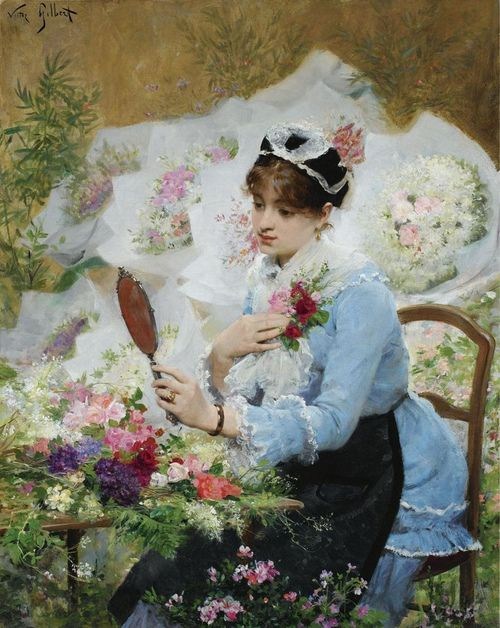 Victor Gabriel Gilbert, The Corsage, (not dated)