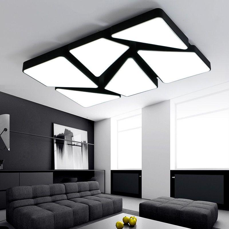 New Acrylic Modern led ceiling lights for living room bedroom Plafon ...