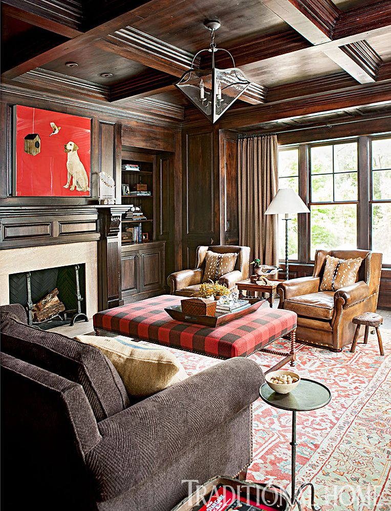Delightful [CasaGiardino] ♛ Wood U0026 Red Accents   Baseballu0027s Off Season Means A Retreat  For Jon And Farrah Lester To Their Atlanta U201cForever Homeu201d