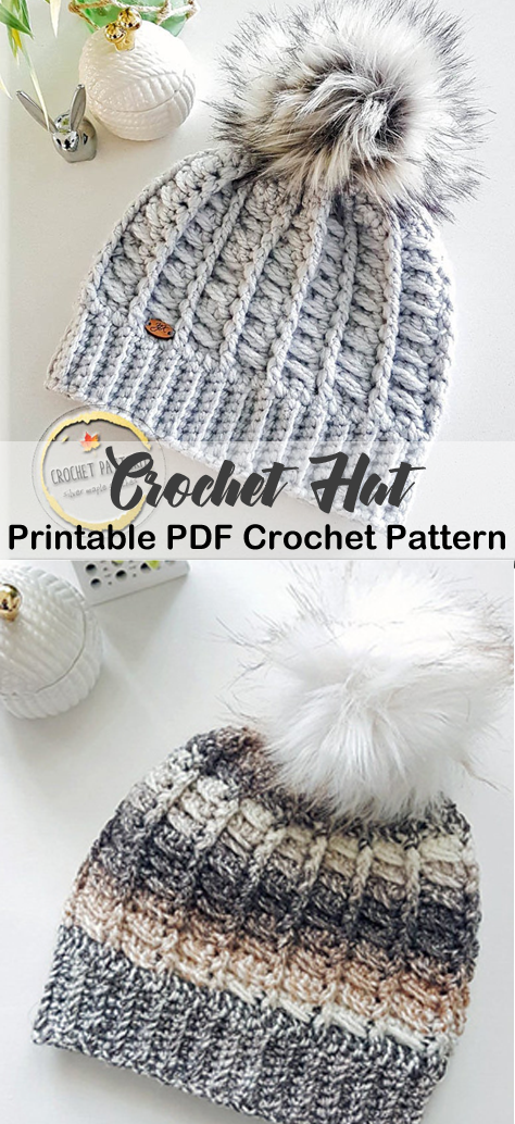 Make a Cozy Hat #crochethatpatterns