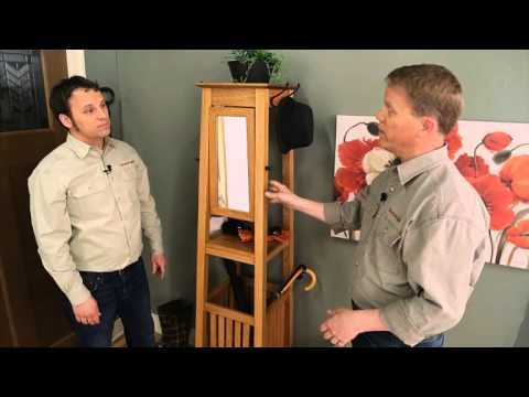 This Stylish Project Is The Perfect Storage Solution For Any Hall Or Entryway You Simple Woodworking Plans Chest Woodworking Plans Woodworking Tools For Sale